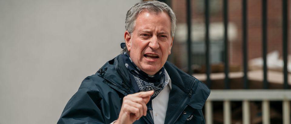 New York City Mayor De Blasio