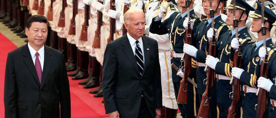 U.S. Vice President Joe Biden Meets Chinese Vice President Xi Jinping