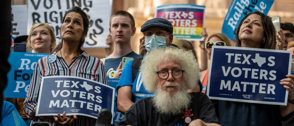 Texas Democrats Flee To DC To Prevent Passage Of Election Security, Transgender Sports Bills