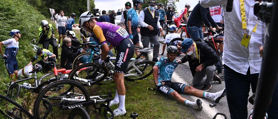 Tour de France Spectator Crash