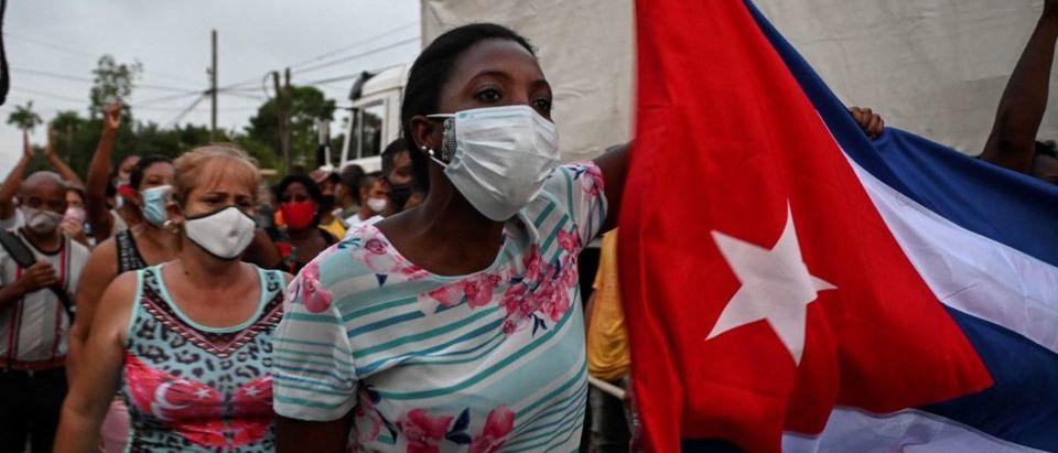 CUBA-POLITICS-DEMONSTRATION