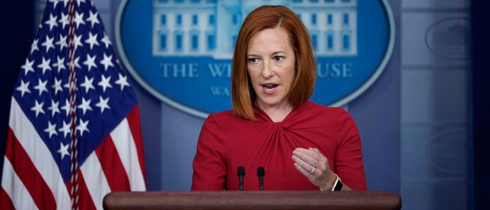 White House Press Secretary Jen Psaki Holds Daily Briefing At The White House