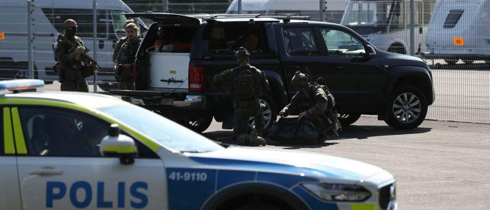 SWEDEN-CRIME-PRISON-HOSTAGE-POLICE-OPERATION