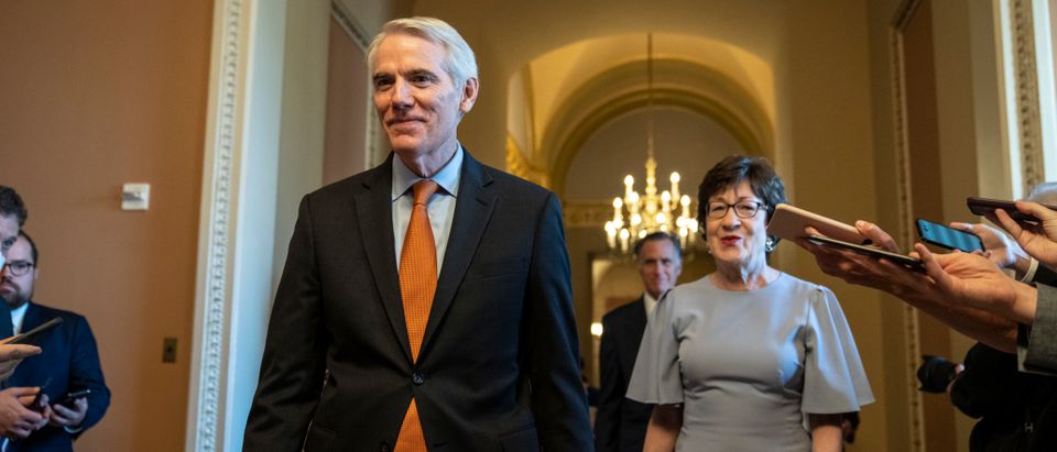 Lawmakers Continue To Work On Bipartisan Infrastructure Deal On Capitol Hill