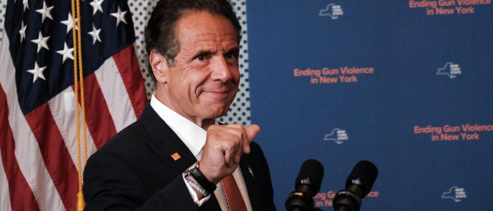 New York Gov. Cuomo Speaks On Gun Violence Prevention