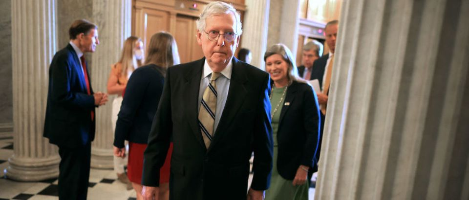 Senators Speak To Press After Weekly Policy Luncheons