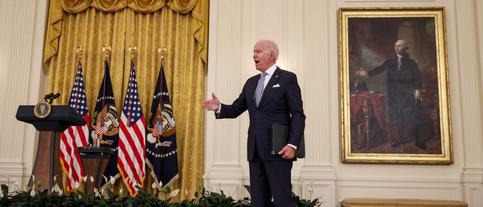 President Biden Delivers Remarks On Nation's Vaccination Efforts