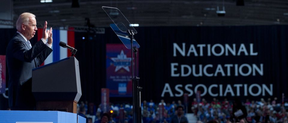 US Vice President Joe Biden speaks durin