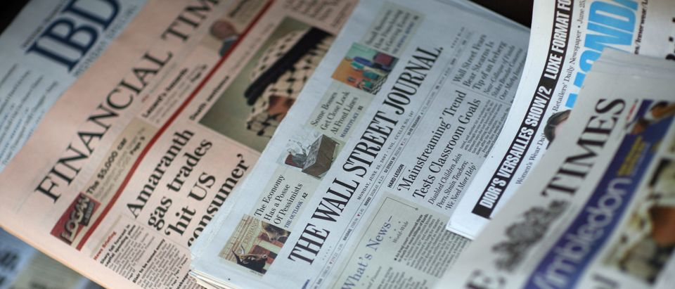newspapers, news stand