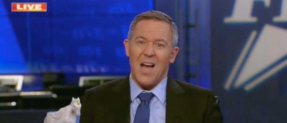 "Greg Gutfeld appears on ""The Five"" Screenshot/Fox News"
