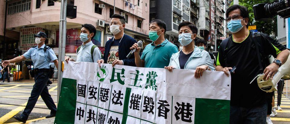 Hong Kong Pro-Democracy Protestors Getty