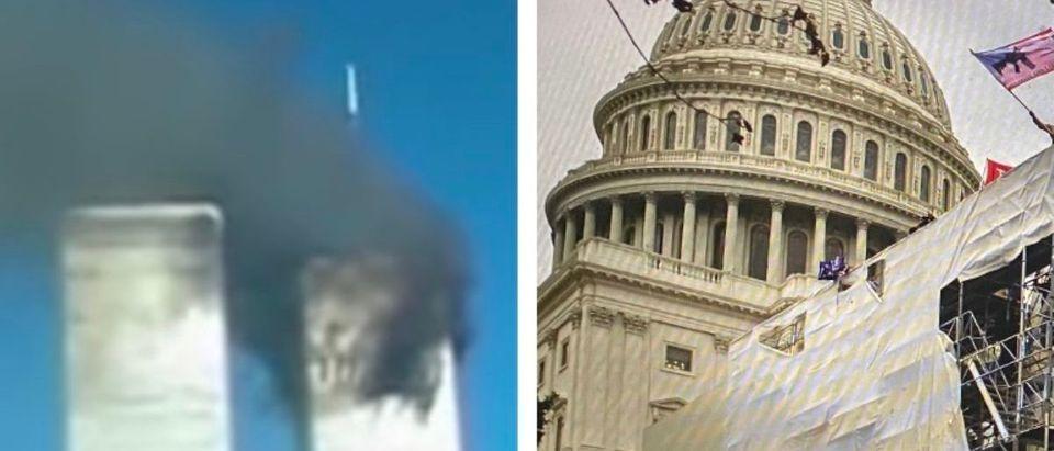 World Trade Center on September 11, 2001-Capitol riot on Jan. 6, 2021