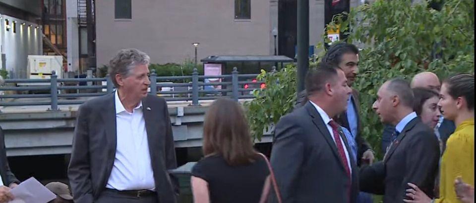 Tensions boil over between RI Gov. Dan McKee and Mayor Jorge Elorza.