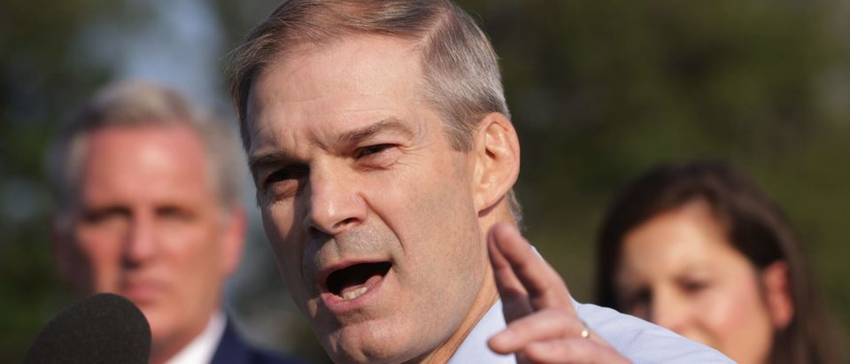 U.S. Rep. Jim Jordan speaks during a news conference in front of the U.S. Capitol July 27, 2021 in Washington, DC. (Photo by Alex Wong/Getty Images)