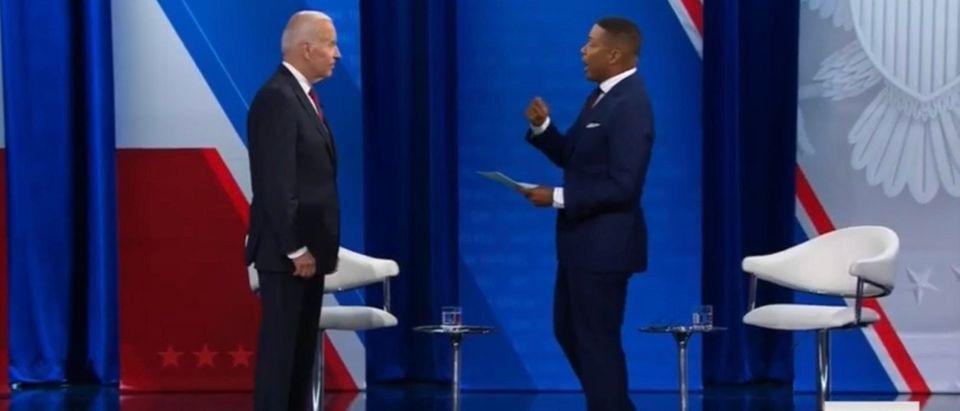 President Joe Biden. (Screenshot/CNN)
