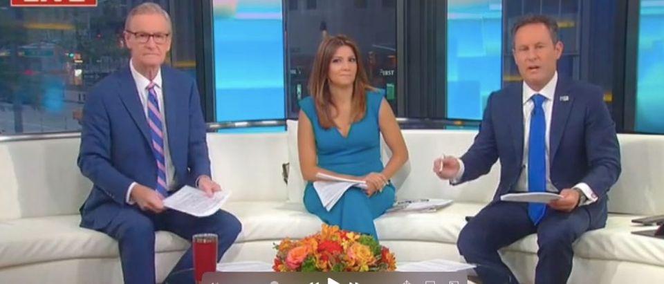 "Briade Kilmeade appears on ""Fox and Friends"" Screenshot/Fox News"