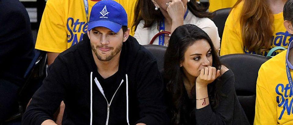 Ashton Kutcher, Mila Kunis (Photo by Thearon W. Henderson/Getty Images)