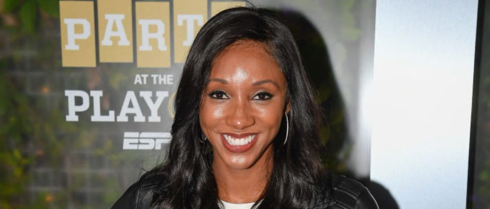 SAN JOSE, CA - JANUARY 05: Maria Taylor of ESPN attends the Party At The Playoff at The GlassHouse on January 5, 2019 in San Jose, California. (Photo by Steve Jennings/Getty Images for ESPN)