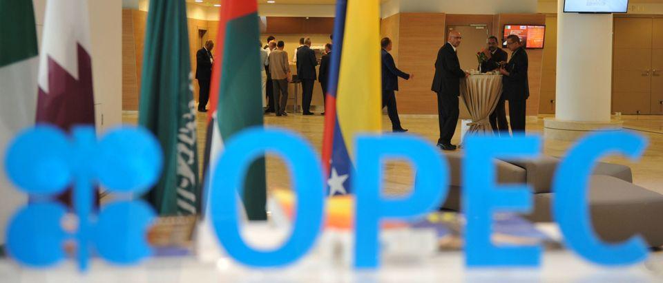 OPEC Sign Getty