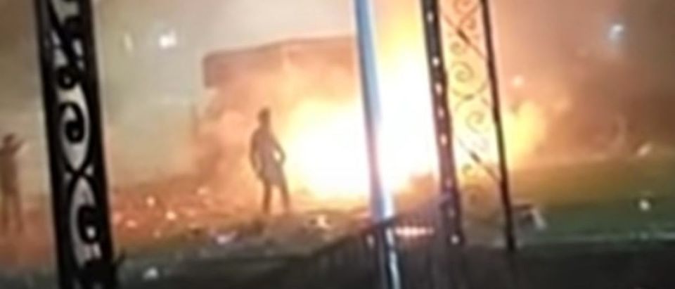 Toledo Explosion (Credit: Screenshot/YouTube https://www.youtube.com/watch?v=zqf-cEK7mRo)
