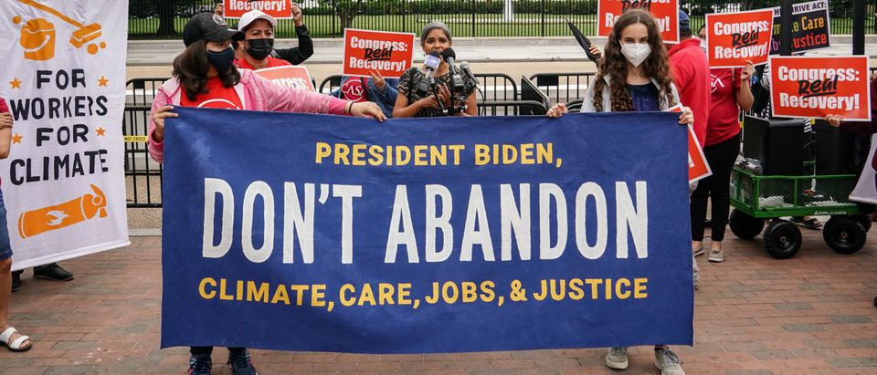 Washington DC: Broad Coalition Urges Biden Not To Compromise On Climate, Care, Jobs, And Justice