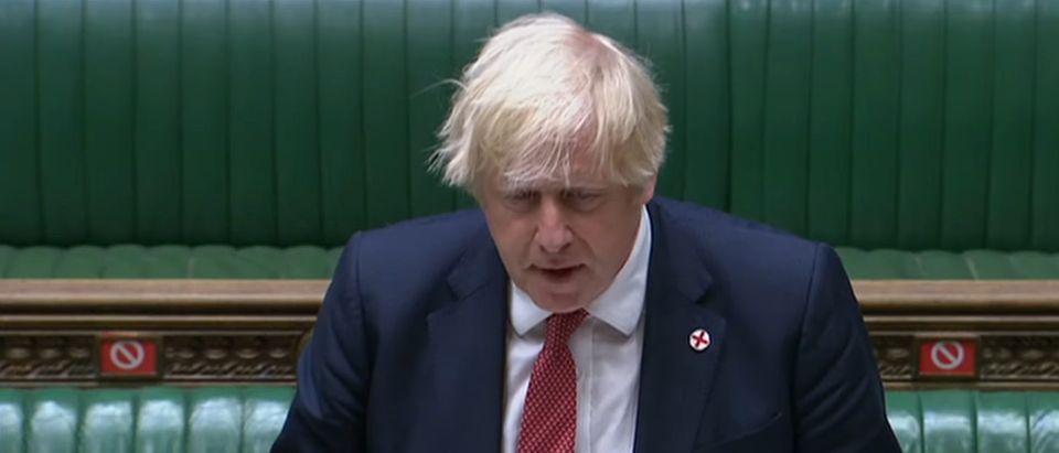 Picture of the United Kingdom's Prime Minister Boris Johnson