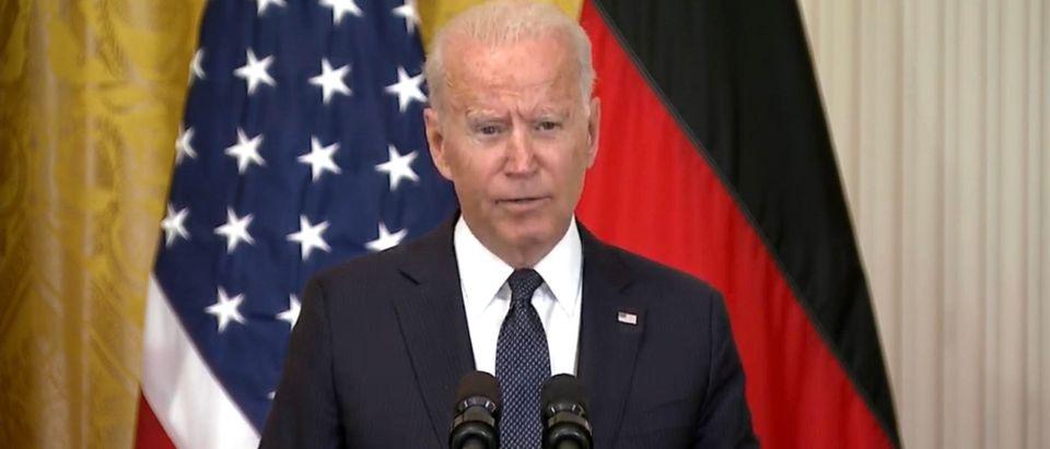 President Joe Biden. (Screenshot/YouTube/Washington Post)