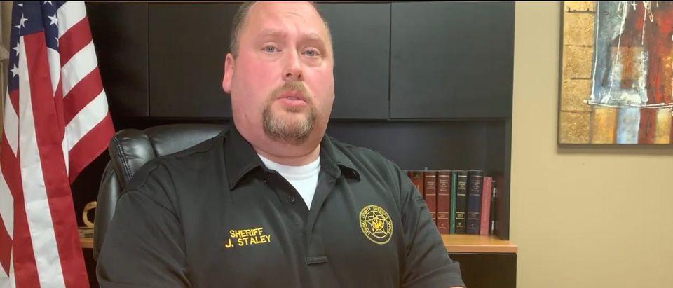 Lonoke County Sheriff John Staley