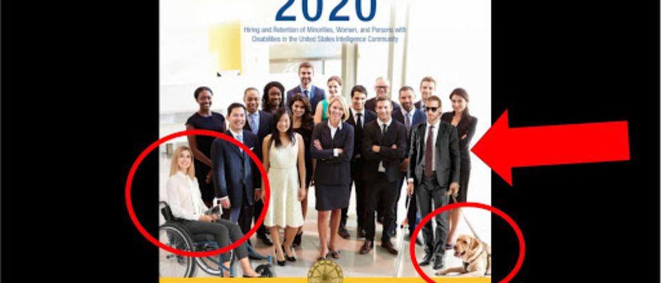 ODNI Photoshopped Diversity Cover