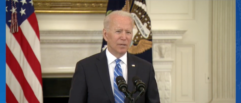 Pres. Biden said Facebook isn't killing people after appearing to say the opposite days earlier. (Screenshot The White House)