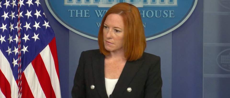 White House press secretary Jen Psaki said there have been breakthrough cases among White House staffers. (Screenshot YouTube, White House Press Briefing)