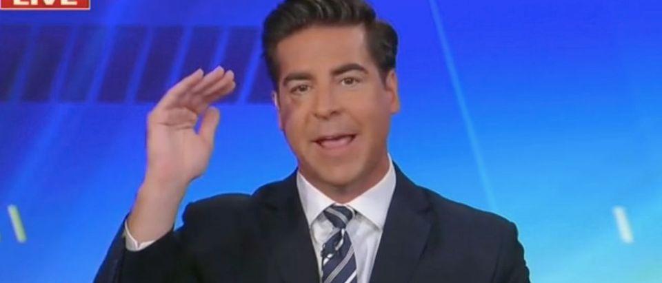 "Jesse Watters appears on ""The Five."" Screenshot/Fox News"