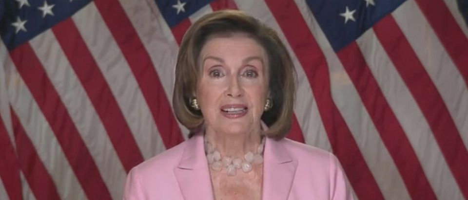 "Nancy Pelosi appears on ""This Week."" Screenshot/ABC"