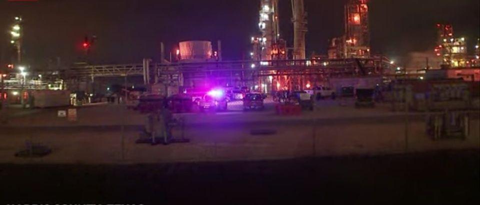 Chemical Leak At Texas Plant