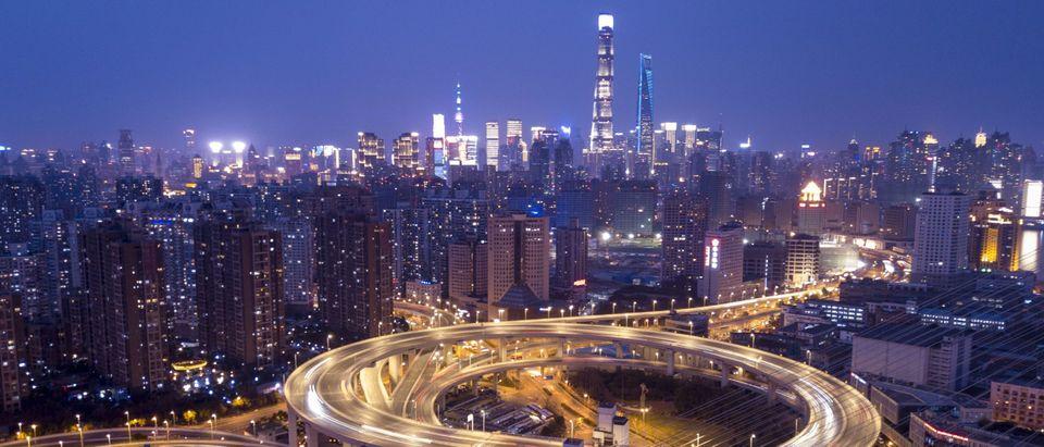 Shanghai Skyline Getty