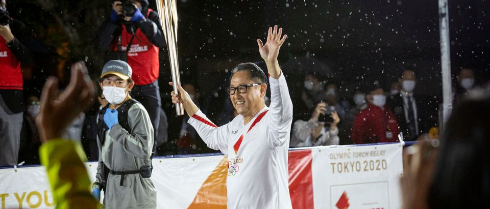 Olympic Torch Relay - TOYOTA-OLYMPICS