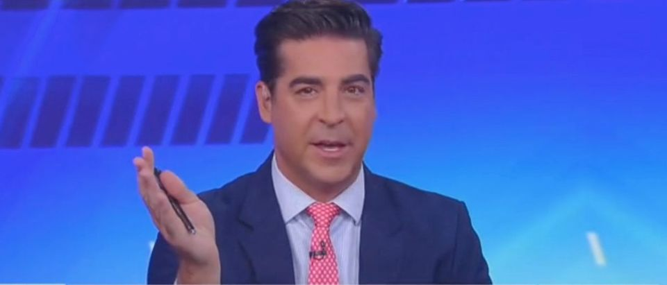 "Watters appears on ""The Five"" Screenshot/Fox News"