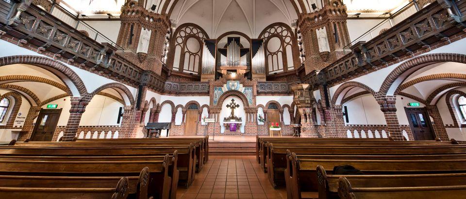Passionskirche Remains Closed Due To Coronavirus Lockdown