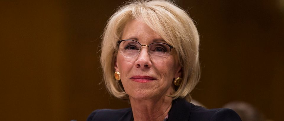 Education Secretary Betsy DeVos Testifies To Senate Committee On Department's Budget