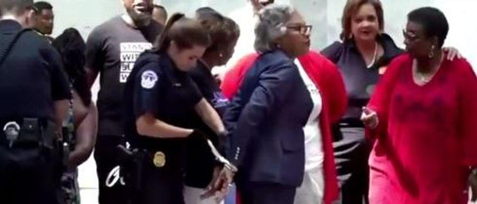 joyce beatty arrest