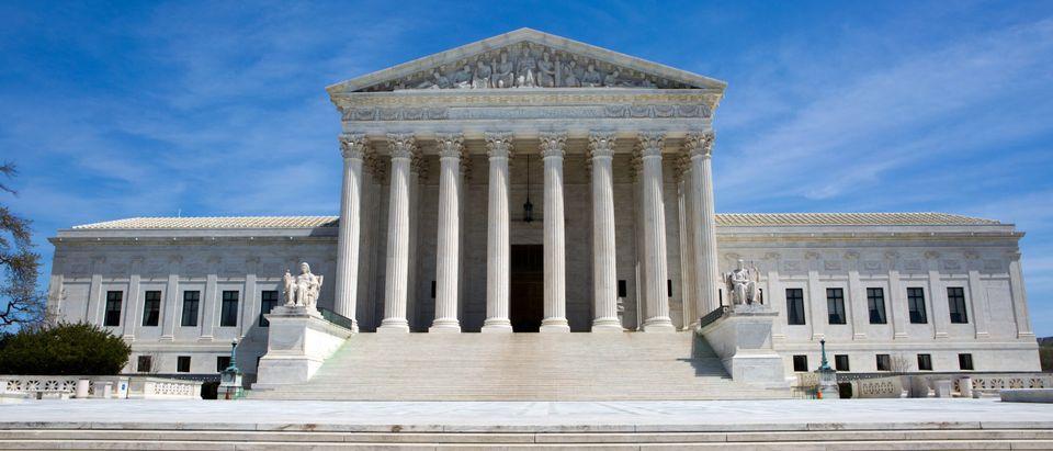 Supreme Court building in Washington, D.C.. [Shutterstock/Steven Frame]