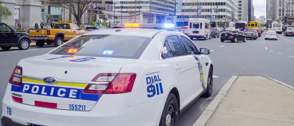 Philadelphia Police Car. [4kclips/Shutterstock]