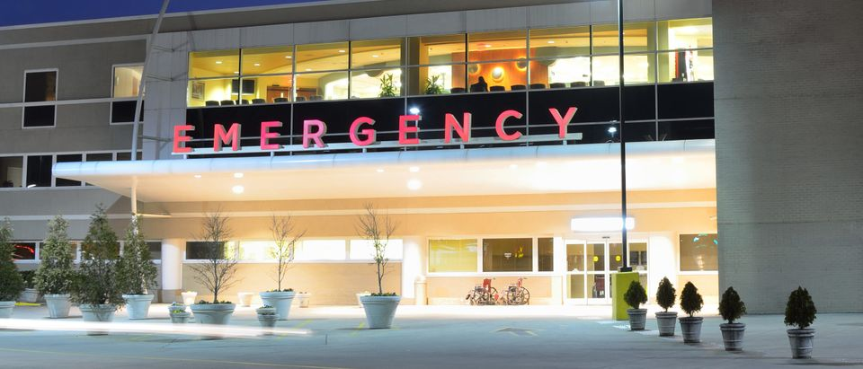 Emergency room entrance [ESB Professional/Shutterstock]