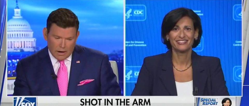 Walensky Says Biden Admin. Is 'Looking Into' Vaccine Mandate Before Quickly Walking Back Remarks