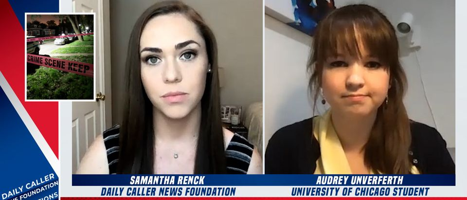 Audrey Unverferth speaks with the Daily Caller News Foundation