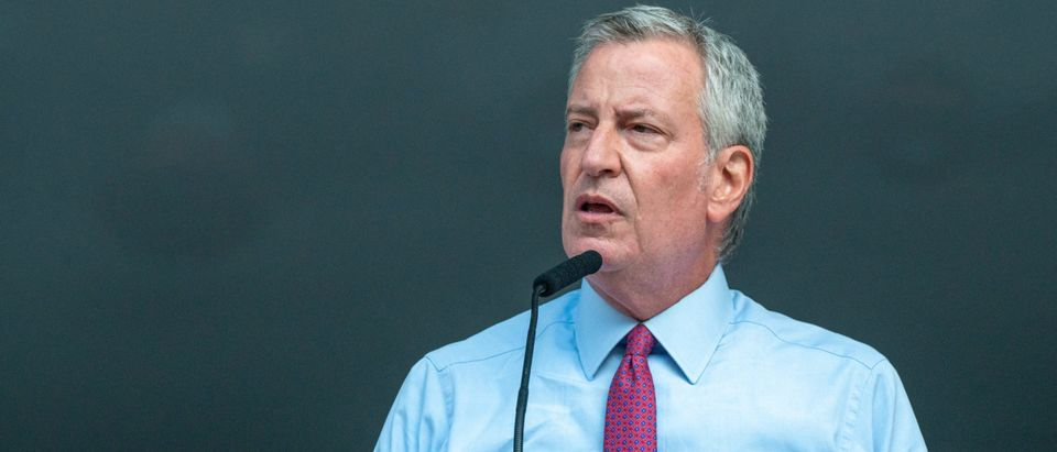 Mayor De Blasio Attends National Night Out Event In The Bronx