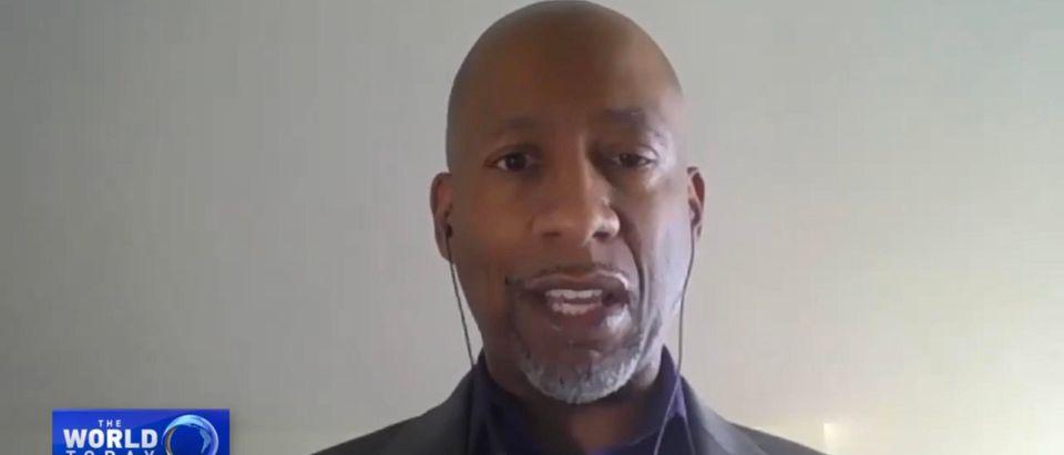 Carlton Waterhouse. (Screenshot/YouTube/CGTN America)