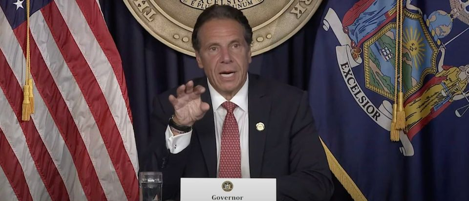 D-NY Gov. Andrew Cuomo says businesses should mandate vaccines [Youtube:Screenshot:Governor Andrew Cuomo]