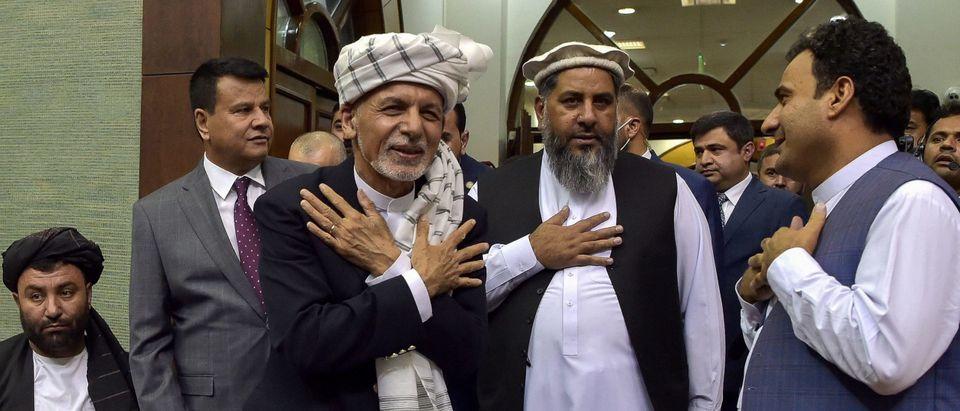 Afghan President Ashraf Ghani Blame US Withdrawal Troops Taliban US NATO