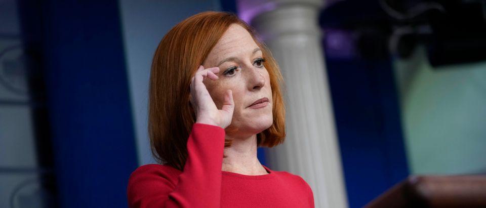 White House Press Secretary Psaki Briefs Media